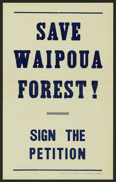 Save Waipoua forest!