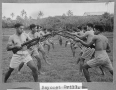 Members of the Tonga Defence Force of 2nd NZEF Ref: PA1-f-107-07-2