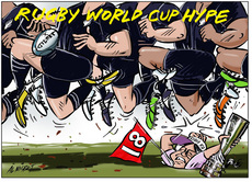 Rugby World Cup hype buries Lydia Ko