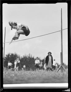 School sports day, Dargaville Domain
