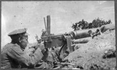 New Zealand machine gunner