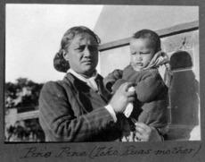 Pinepine Te Rika, wife of Rua Kenana Hepetipa