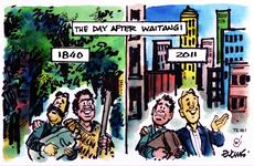 The day after Waitangi, 1840 - 2011. 6 February 2011