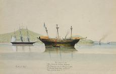 Hamley, Joseph Osbertus 1820-1911 :H.M.S. Esk ; stuck with the Maoris taken prisoner at Rangiriri where Capt.... R.A. was killed. [1864?]