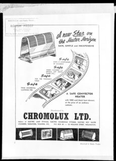 Chromolux heaters