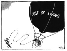 Hubbard, James, 1949- :Cost of living. 19 April 2011