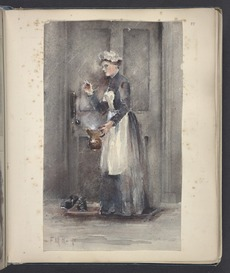 Maid with jug