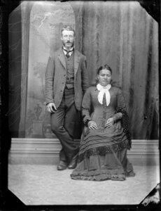 Pakeha and Maori couple