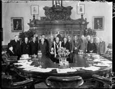 Members of the Wellington City Council