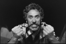Portrait of actor George Henare as Othello - Photograph taken by Jon Hargest