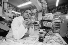Ash Patel, dairy owner, Wellington