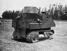 Tank designed by Robert Semple