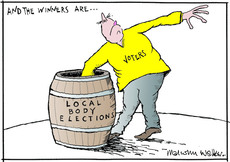 And the winners are... local body elections
