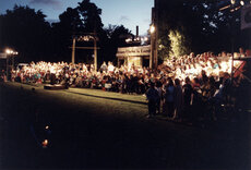 Carols by Candlelight at Harcourt Park, 1994.