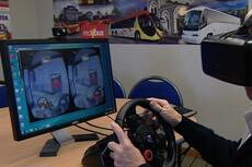 Bus drivers learn through virtual reality