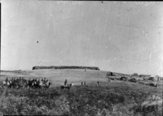 Gate Pa, Tauranga soon after attack...1864
