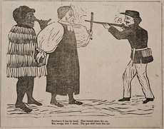 Missionary protection of Māori cartoon