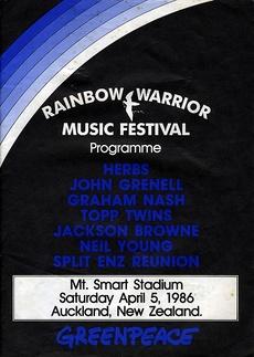 Rainbow Warrior music festival