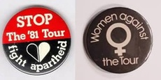 Protest badges - 1981