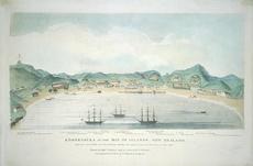 Kororāreka painting, 1845
