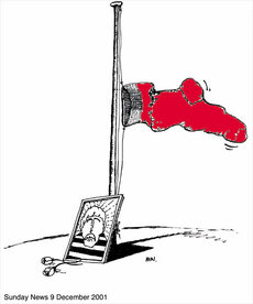 Cartoon tribute