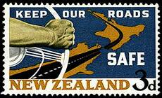 Road safety stamp
