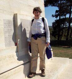 Helen Clark at Gallipoli