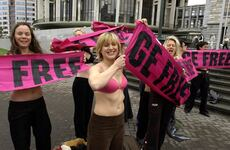 MAdGE's pink protest