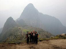 Tourism: trekking to Machu Picchu
