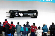 Olympic bobsleigh event