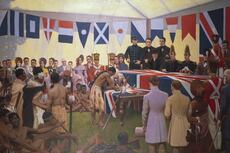 The Treaty of Waitangi in art