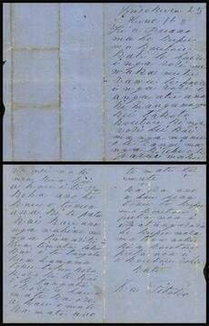 Letter from Tītokowaru