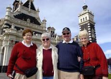 Canadian tourists