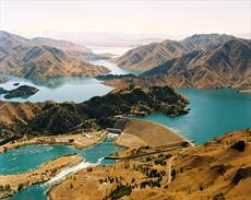 Lake Benmore hydroelectric dam