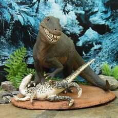 Dinosaur diorama