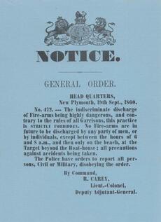 Taranaki Provincial Council public notices