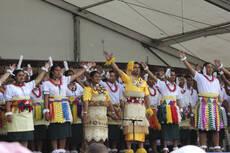 Tongan Lakalaka dance, ASB Polyfest.