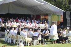 Tonga Village, Pasifika Festival, 2016.