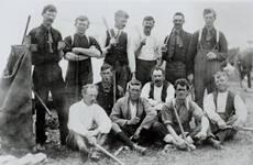 Massey's East Tamaki Cossacks, November 1913.