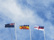 United Tribes flag flies at Christchurch City Council