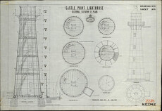 Castle Point lighthouse plan