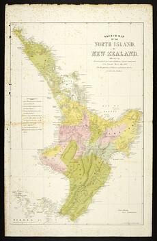 Loyal and rebel districts, 1869
