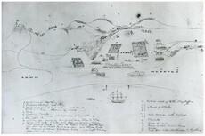 Kororāreka (Russell): After the Fire, 1845