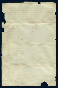 He Whakaputanga o te Rangatiratanga o Nu Tireni (known as The Declaration of Independence) [Page 2 of 3], 1835