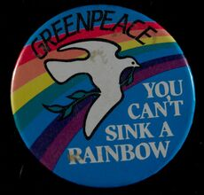 Greenpeace badge