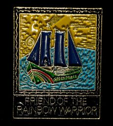 'Friend Of The Rainbow Warrior' badge