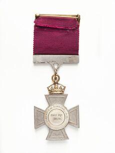 New Zealand Cross medal