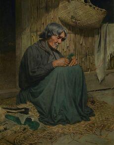 The widow (Harata Rewiri Tarapata, Ngapuhi)