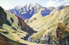 Orari Gorge, summer