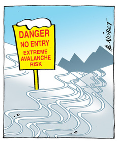 Extreme avalanche risk